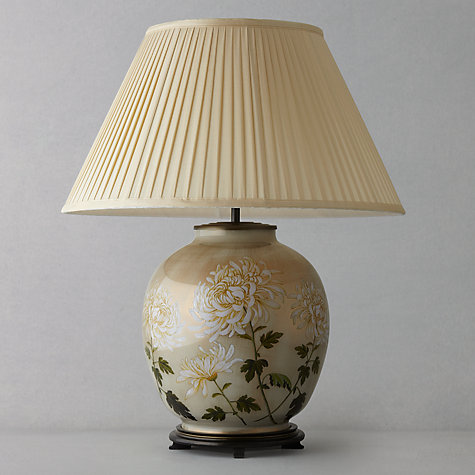 Buy Jenny Worrall Chrysanthemum Glass Lamp, Large Online at johnlewis.com