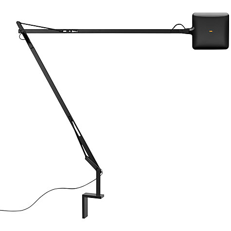 Buy Flos Kelvin LED Wall Light, Black Online at johnlewis.com