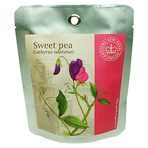 Buy Kew Gardens Pocket Garden, Sweet Peas Online at johnlewis.com