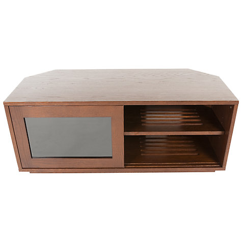 "Buy Coruna Oak Wood TV Stand for TVs up to 50"" Online at johnlewis.com"