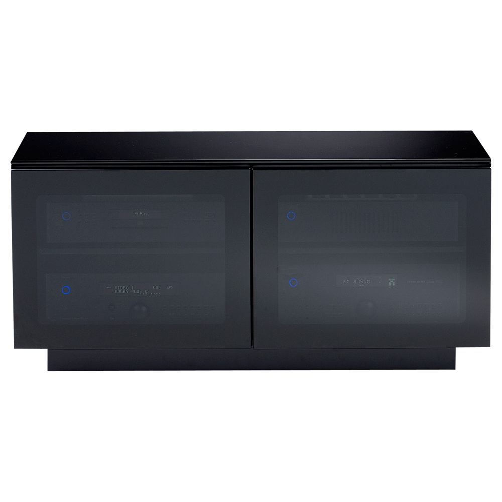 BDI Mirage 8224/BL TV Stand for TVs up to 42, Black