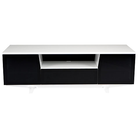 "Buy BDI Marina 8729-2/GW TV Stand for TVs up to 82"", White Online at johnlewis.com"