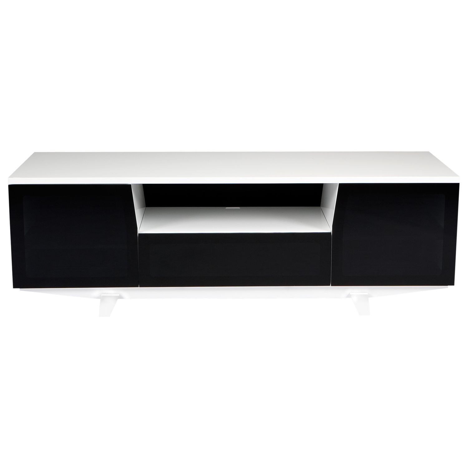 BDI BDI Marina 8729-2/GW TV Stand for TVs up to 82, White