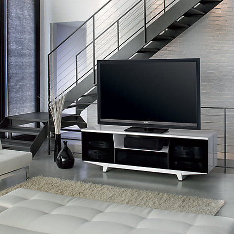 "Buy BDI Marina 8729-2/GW TV Stand for TVs up to 82"" Online at johnlewis.com"