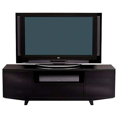 "Buy BDI Marina 8729-2/GB TV Stand for up to 82"" TVs, Black Online at johnlewis.com"