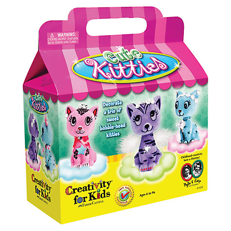 Buy Creativity for Kids Cute Kitties Kit Online at johnlewis.com