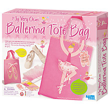 Buy My Very Own Ballerina Tote Bag Kit Online at johnlewis.com