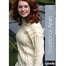 Buy Wendy Traditional Aran Pattern Book, 315 Online at johnlewis.com