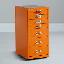 Buy Bisley Non-Locking Under Desks Mutidrawer Online at johnlewis.com