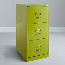 Buy Bisley 3 Drawer Filing Cabinets Online at johnlewis.com