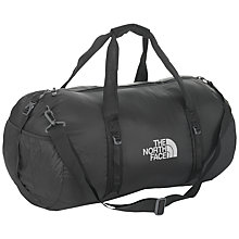 Buy The North Face Large Flyweight Holdall, Black Online at johnlewis.com