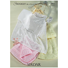 Buy Sirdar Snuggly 3 Ply, 4 Ply, DK Leaflet, 1665 Online at johnlewis.com