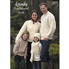 Buy Wendy Traditional Aran Family Leaflet, 5640 Online at johnlewis.com