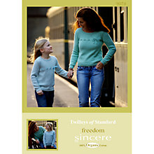 Buy Twilleys Freedom Sincere DK Pattern Leaflet, 9074 Online at johnlewis.com