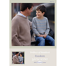 Buy Twilleys Freedom Sincere DK Pattern Leaflet, 9075 Online at johnlewis.com