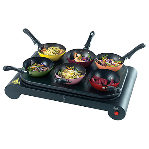 Buy Swan 'Come Dine With Me' Party Wok and Pancake Maker Online at johnlewis.com
