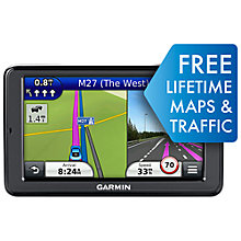 Buy Garmin nüvi 2595LMT GPS Navigation System, European Maps including UK & Ireland Online at johnlewis.com