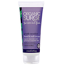 Buy Organic Surge Gentle Meadow Hand & Nail Cream, 75ml Online at johnlewis.com