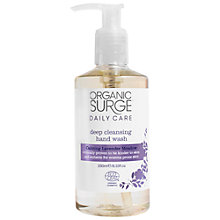 Buy Organic Surge Gentle Meadow Hand Wash, 250ml Online at johnlewis.com