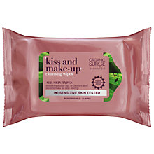 Buy Organic Surge Kiss & Make Up Cleansing Wipes, 250ml Online at johnlewis.com