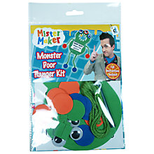 Buy Mister Maker Monster Door Hanger Kit Online at johnlewis.com