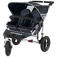 Buy Out 'N' About Nipper 2 Double Pushchair, Navy Online at johnlewis.com