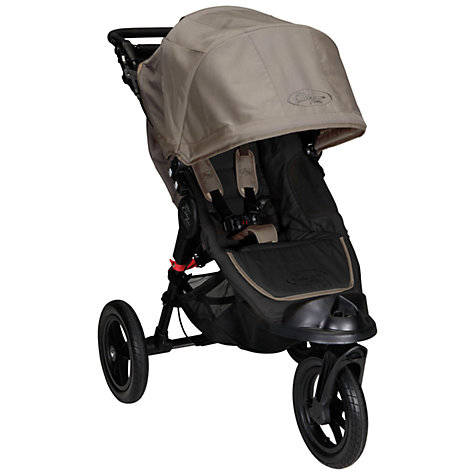 Buy Baby Jogger City Elite Pushchair, Stone Online at johnlewis.com