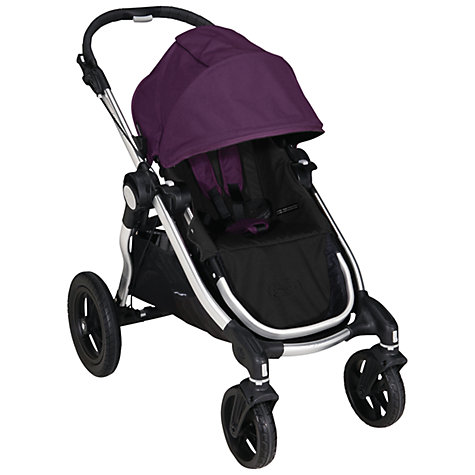 Buy Baby Jogger City Select Pushchair, Purple Online at johnlewis.com