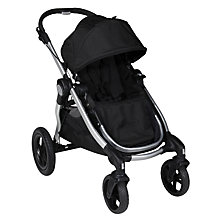 Buy Baby Jogger City Select Pushchair, Black Online at johnlewis.com