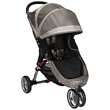 Buy Baby Jogger City Mini 3 Wheeler, Stone/Sand Online at johnlewis.com