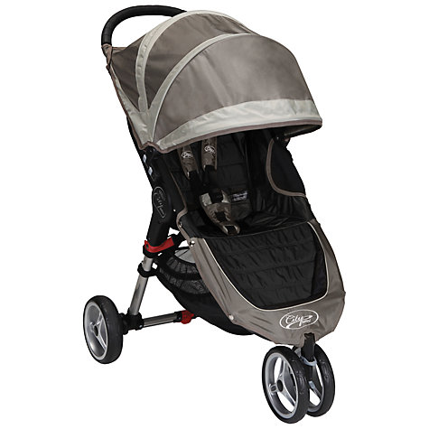 Buy Baby Jogger City Mini 3 Wheeler, Stone Online at johnlewis.com