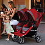 Buy Baby Jogger City Mini Twin 2012 Pushchair, Crimson Online at johnlewis.com