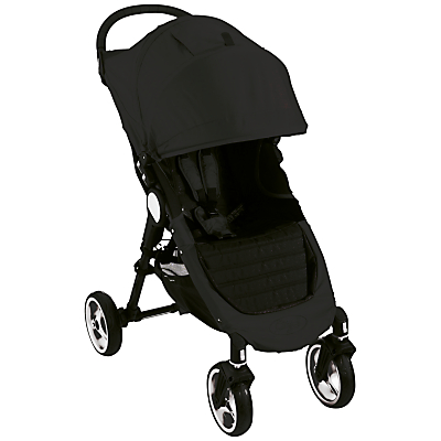 Baby Jogger City Mini 4 Wheel Pushchair, Black
