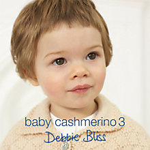 Buy Debbie Bliss Baby Cashmerino 3 Book Online at johnlewis.com