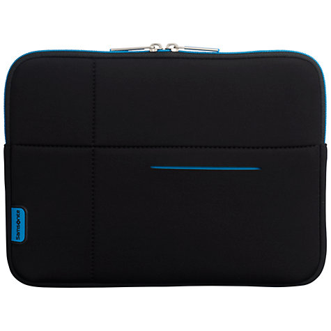 "Buy Samsonite AirGlow 10.2"" Laptop Sleeve, Black Online at johnlewis.com"