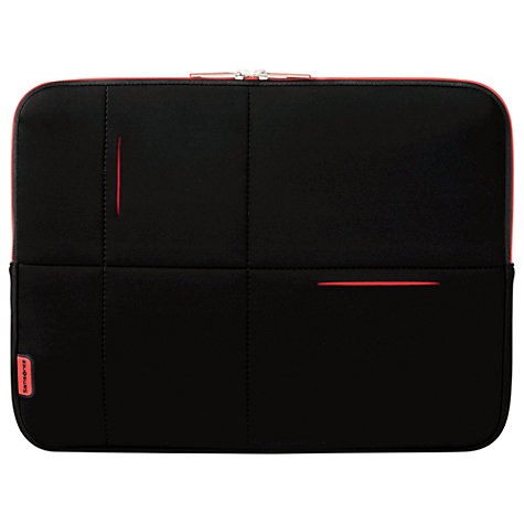 "Buy Samsonite AirGlow 15.6"" Laptop Sleeve, Black Online at johnlewis.com"