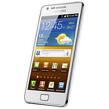 Buy Samsung Galaxy S II Smartphone, SIM Free, 16GB, White Online at johnlewis.com