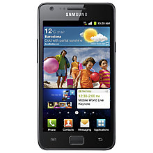 Buy Samsung Galaxy S II Smartphone, SIM Free, 16GB, Black Online at johnlewis.com