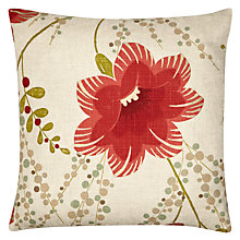 Buy Harlequin Constance Cushion, Red Online at johnlewis.com
