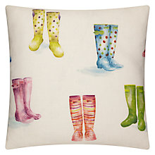 Buy Voyage Welly Boots Cushion, Multi Online at johnlewis.com
