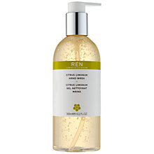 Buy REN Citrus Limonum Hand Wash, 300ml Online at johnlewis.com