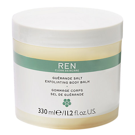 Buy REN Guerande Salt Exfoliating Body Balm, 330ml Online at johnlewis.com