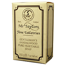 Buy Taylor of Old Bond Street Sandalwood Bath Soap, 200g Online at johnlewis.com