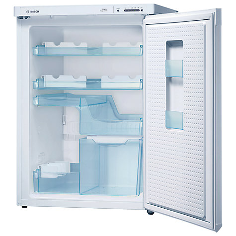 Buy Bosch KTR18PW20G Flexible Layout Larder Fridge, A+ Energy Rating, 60cm Wide, White Online at johnlewis.com
