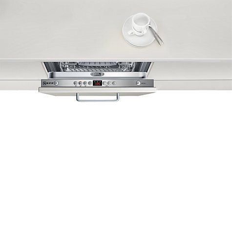 Buy Neff S58M40X0GB Slimline Integrated Dishwasher Online at johnlewis.com