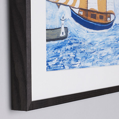 Buy Tate, Alfred Wallis- Blue Ship Framed Print, 42 x 52cm Online at johnlewis.com
