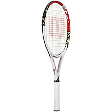 Buy Wilson Pro Staff Six.One Tour 100 Tennis Racket, Grip 3 Online at johnlewis.com