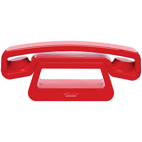 Buy Swissvoice ePure Digital Phone, Red Online at johnlewis.com