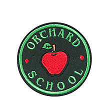 Buy Orchard School and Nursery Blazer Badge, Multi Online at johnlewis.com
