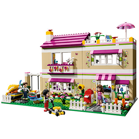 Buy LEGO Friends Olivia's House Set Online at johnlewis.com